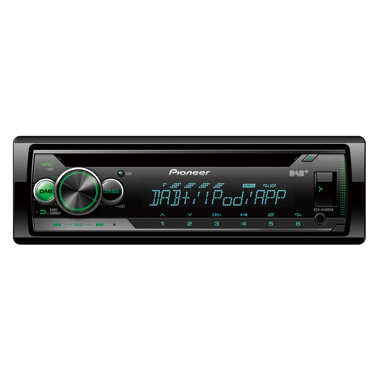 Pioneer DEH-S410DAB 1-DIN CD-Tuner DAB/DAB+ DIGITAL RADIO, USB, SPOTIFY