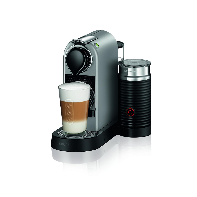 KRUPS NESPRESSO Krups XN 761B Nespresso CITIZ & MILK SILBER XN761B