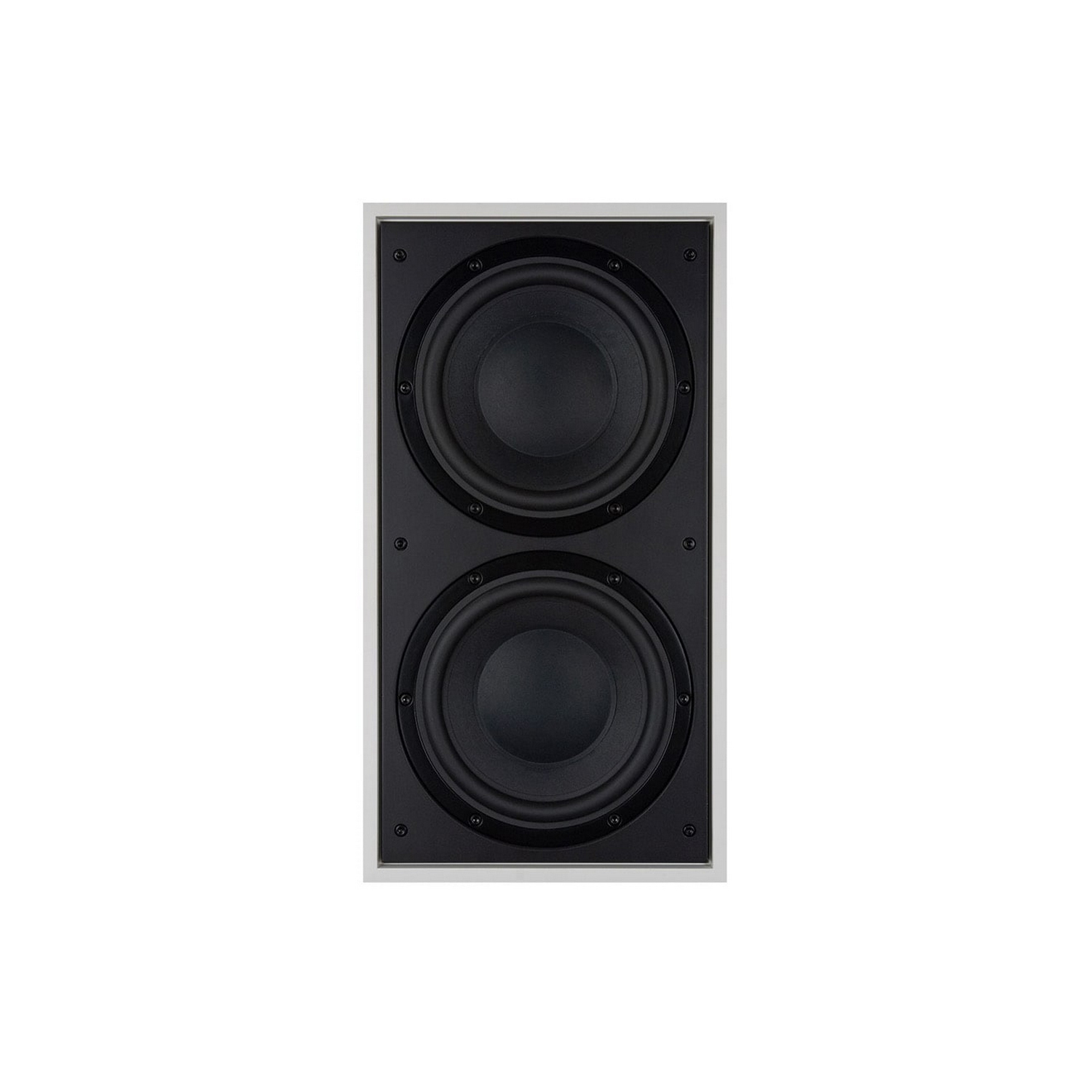 B&W ISW-4 Inwall Subwoofer 2x8