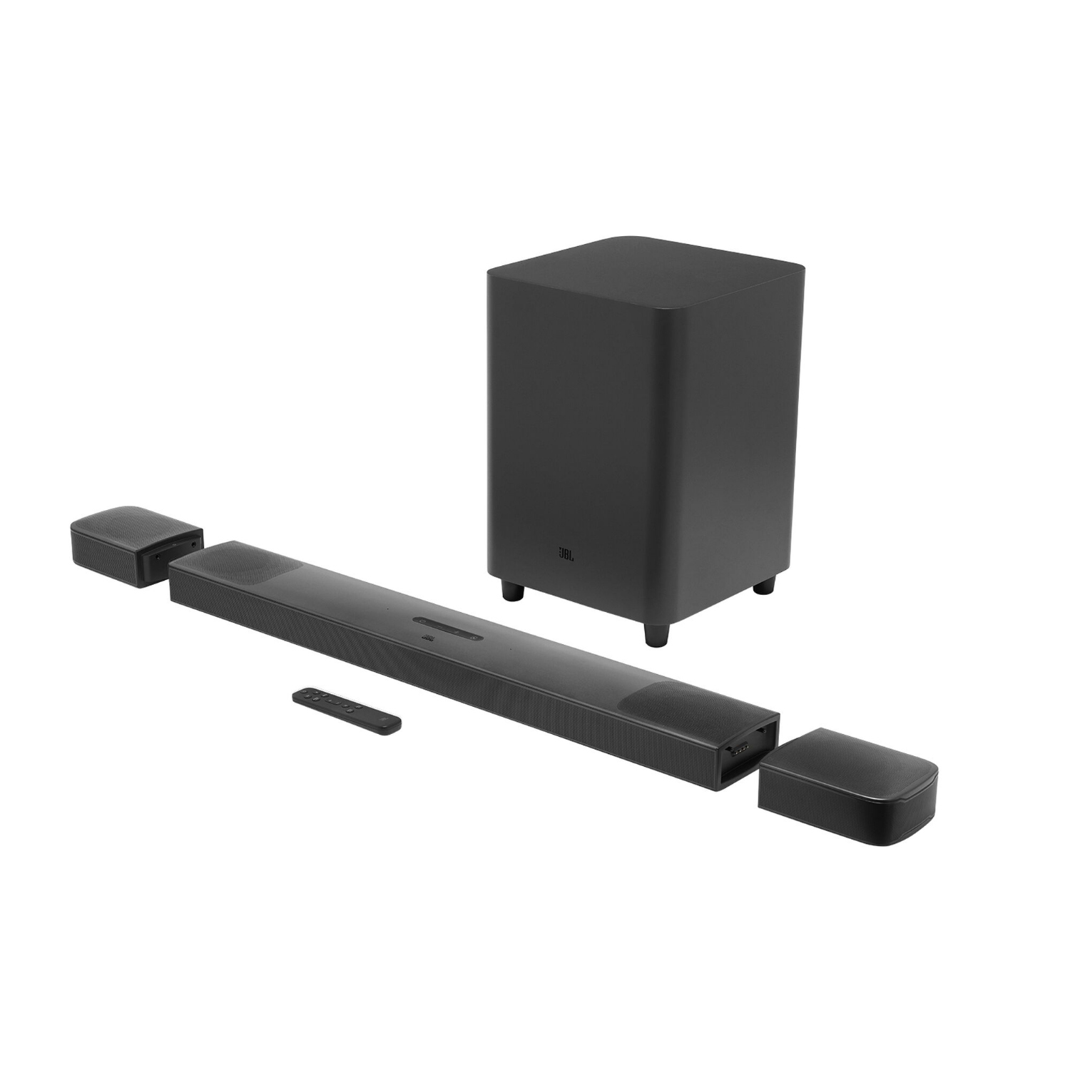 JBL BAR 9.1 Soundbar-System TRUE WIRELESS SURROUND WITH DOLBY ATMOS® JBLBAR913DBLKEP