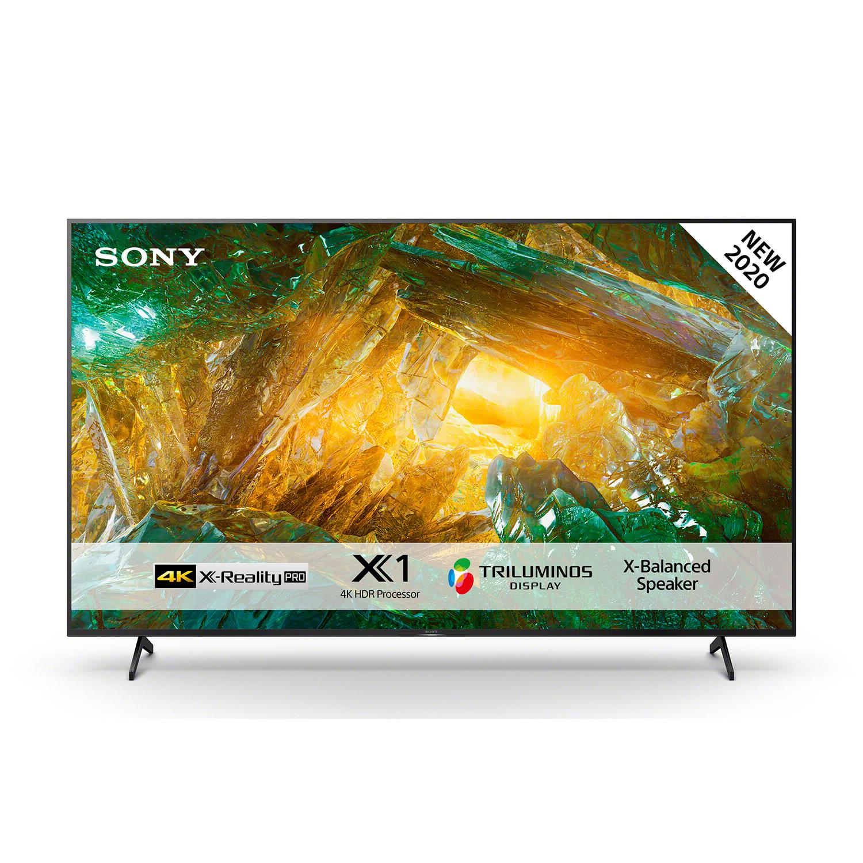 Sony KD-55XH8096 4K ULTRA HD, HDR, SMART TV (ANDROID TV) 4K X-REALITY™ PRO KD55XH8096BAEP