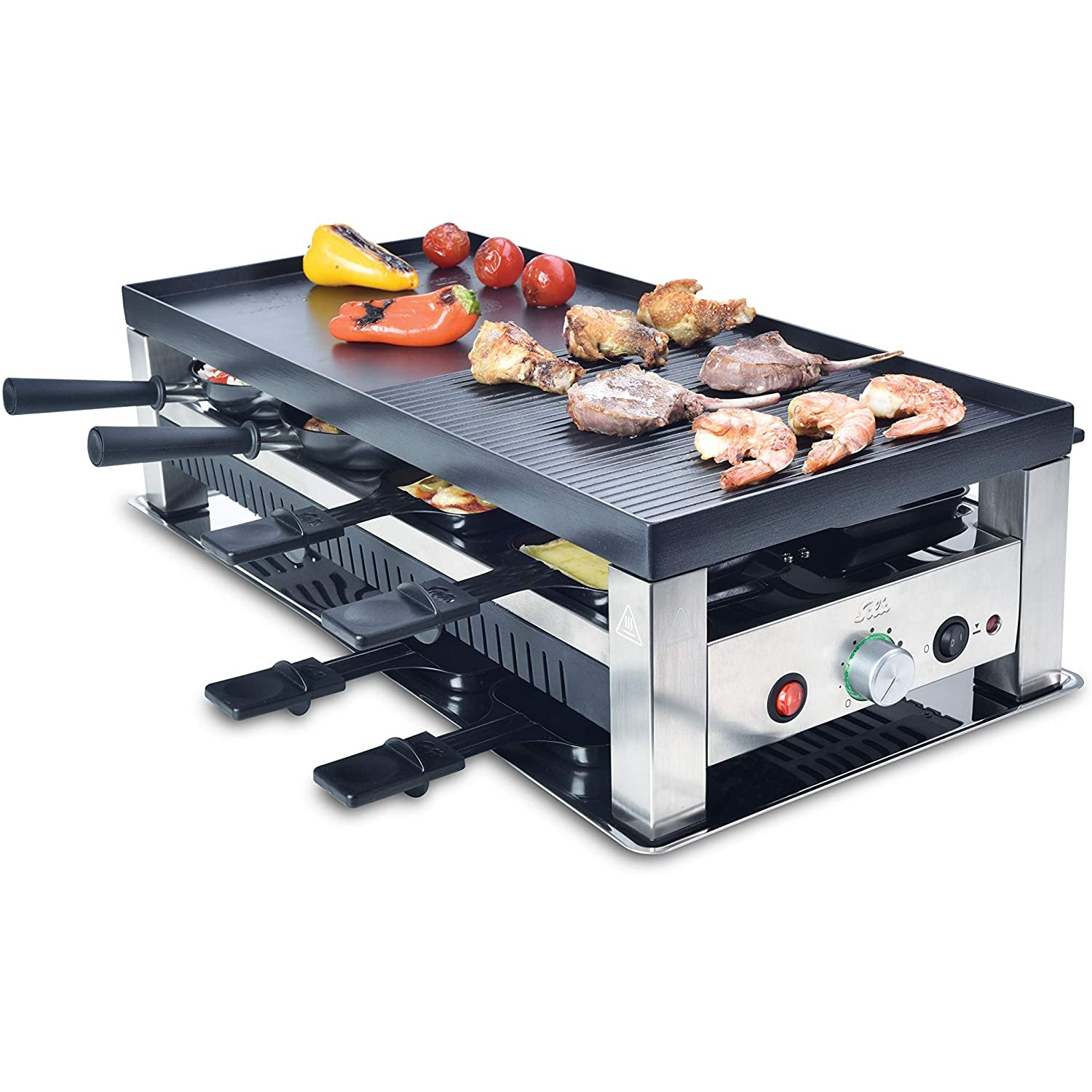 SOLIS 750 Table Grill 5 in 1 MULTIFUNKTIONS-GRILL 977.47