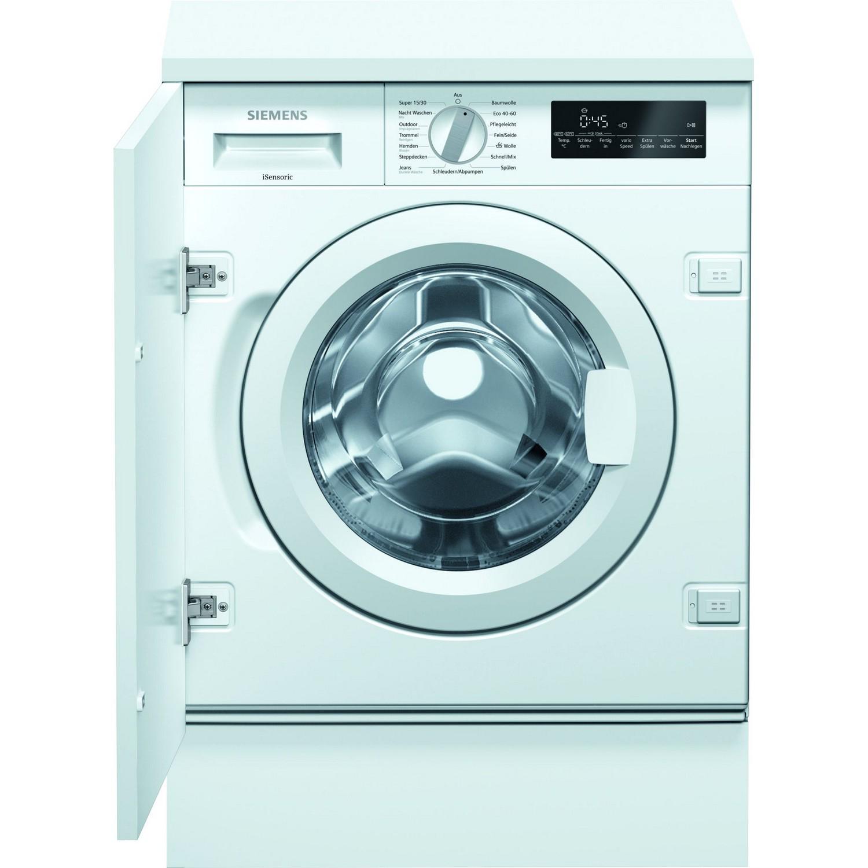 Siemens WI14W442 Einbauwaschmaschine IQ700, A+++, INTEGRIERBAR, 8KG