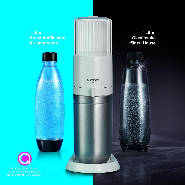 SodaStream Duo Wassersprudler weiß TRINKWASSERSPRUDLER 1016812490